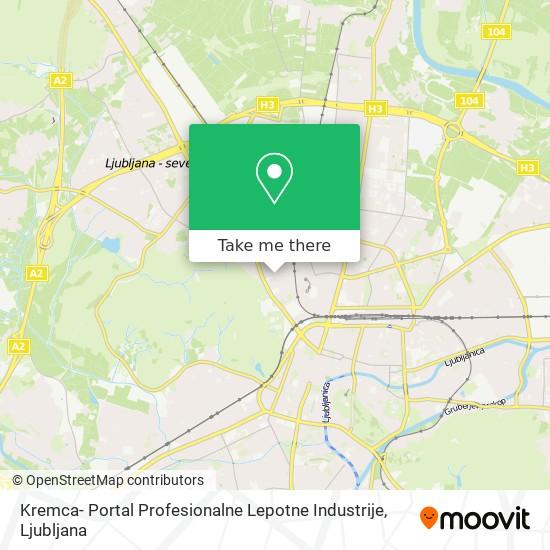 Kremca- Portal Profesionalne Lepotne Industrije map