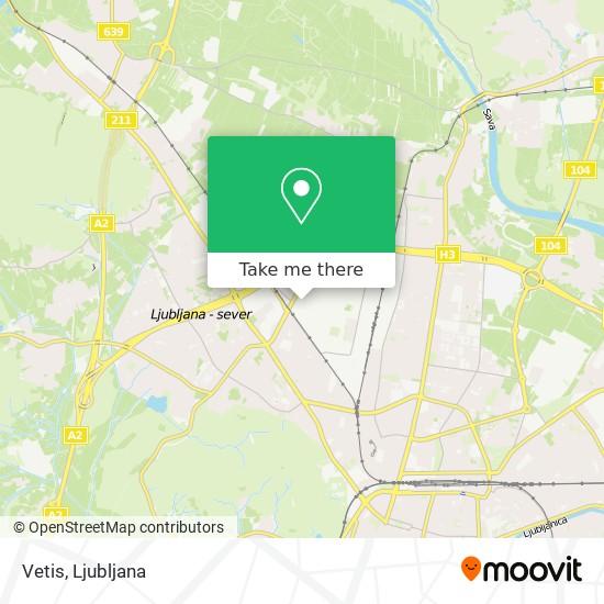Vetis map