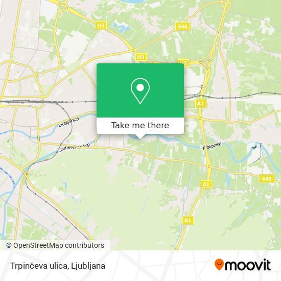 Trpinčeva ulica map