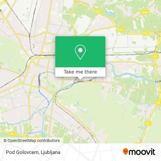 Pod Golovcem map