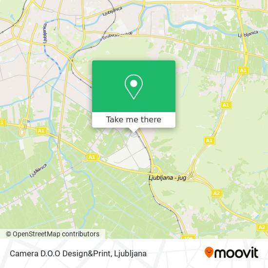 Camera D.O.O Design&Print map
