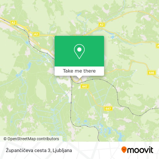 Župančičeva cesta 3 map