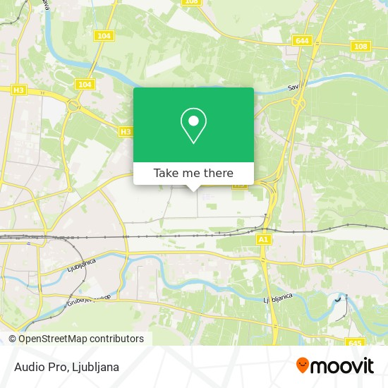 Audio Pro map