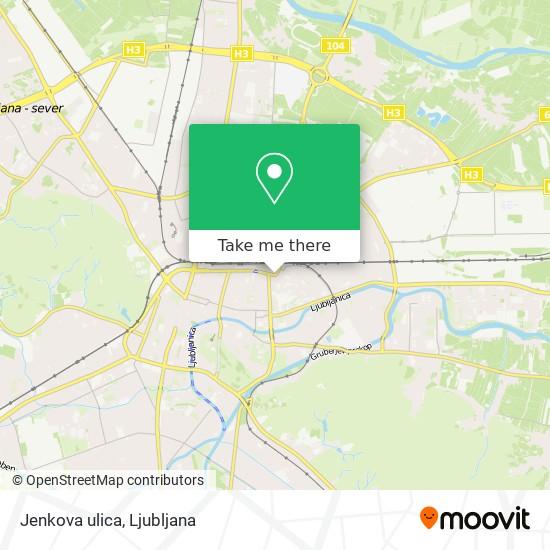 Jenkova ulica map