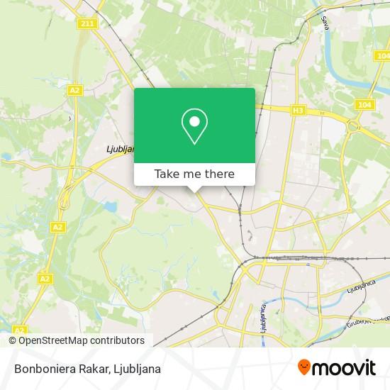 Bonboniera Rakar map