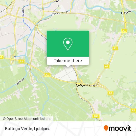 Bottega Verde map
