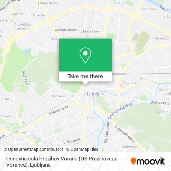 Osnovna šola Prežihov Voranc (OŠ Prežihovega Voranca) map