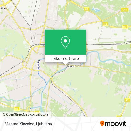 Mestna Klavnica map