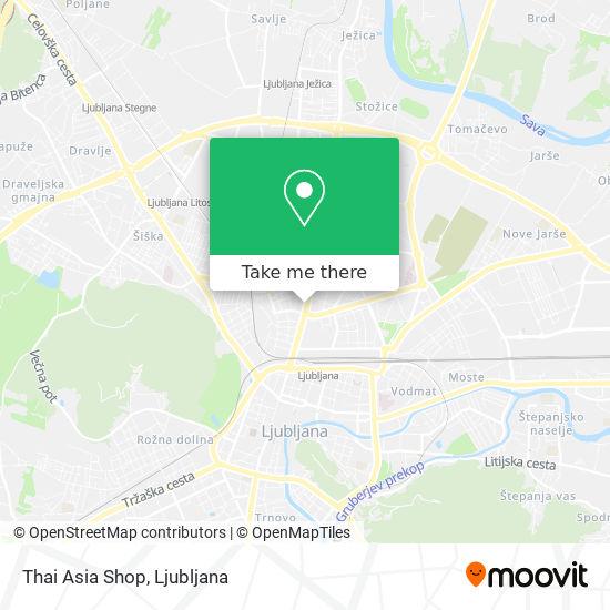 Thai Asia Shop map