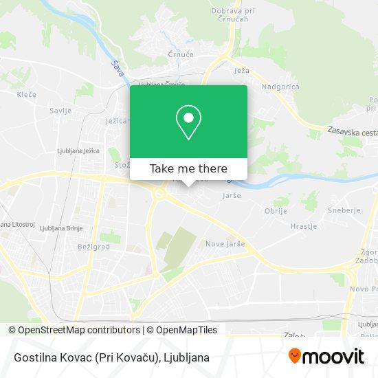 Gostilna Kovac (Pri Kovaču) map