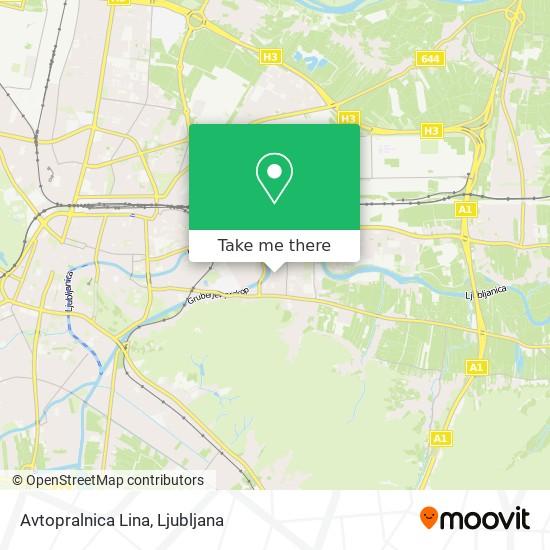 Avtopralnica Lina map