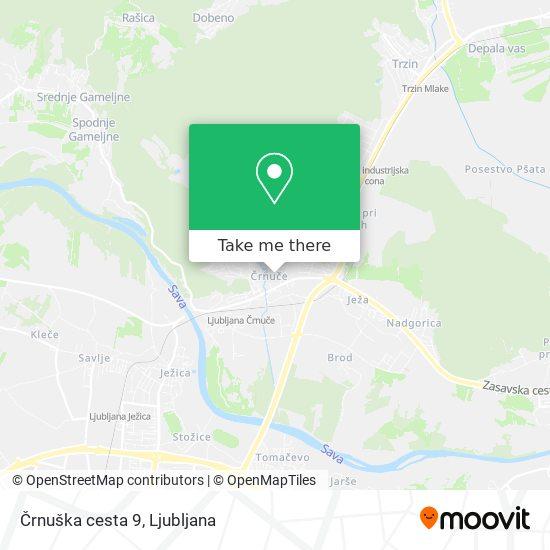 Črnuška cesta 9 map