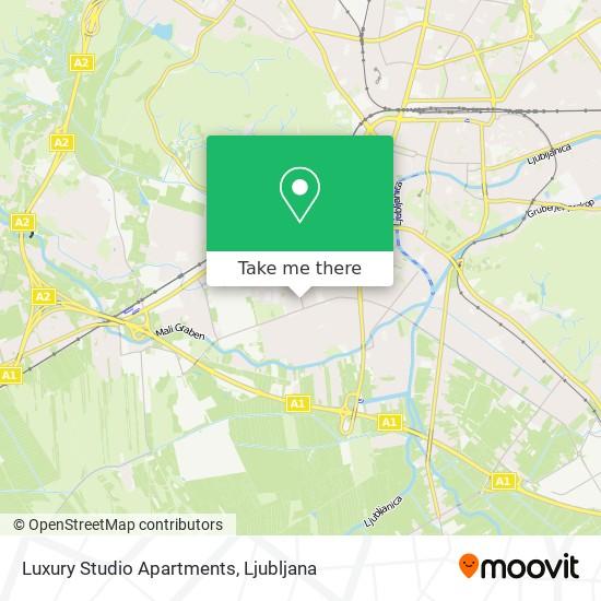 Luxury Studio Apartments map