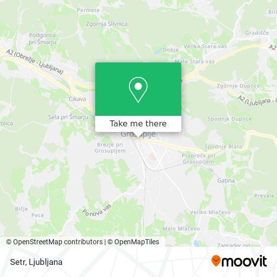 Setr map