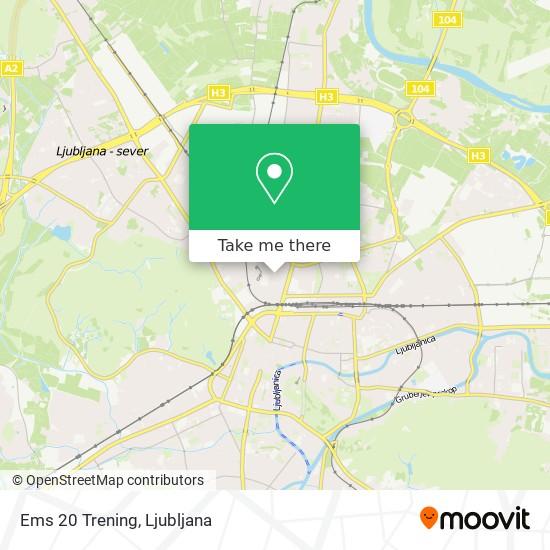 Ems 20 Trening map
