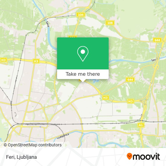 Feri map
