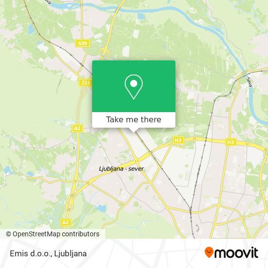 Emis d.o.o. map