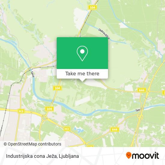 Industrijska cona Ježa map