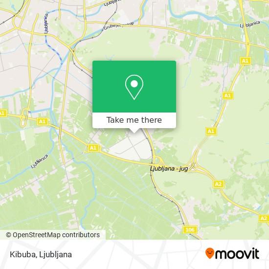 Kibuba map