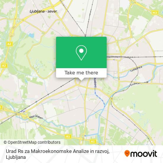 Urad Rs za Makroekonomske Analize in razvoj map