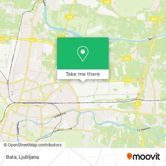 Bata map