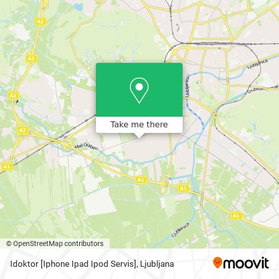 Idoktor [Iphone Ipad Ipod Servis] map