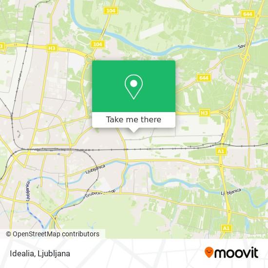 Idealia map