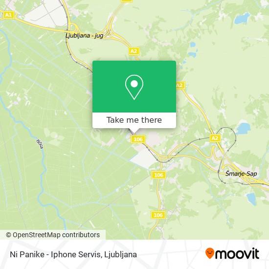 Ni Panike - Iphone Servis map