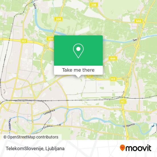 TelekomSlovenije map