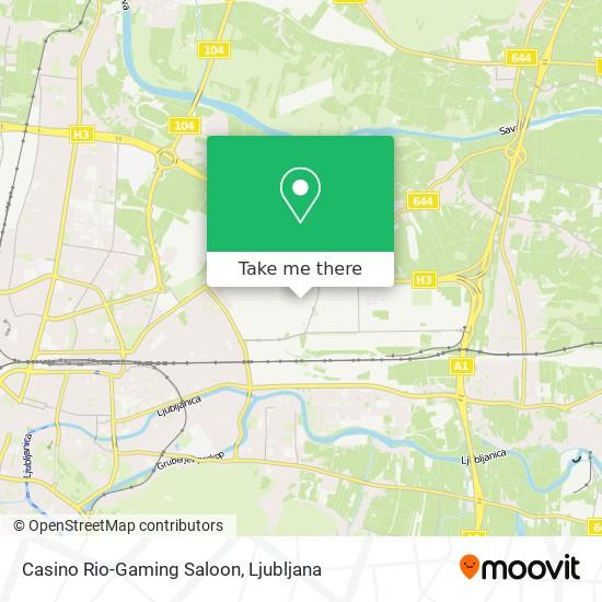 Casino Rio-Gaming Saloon map