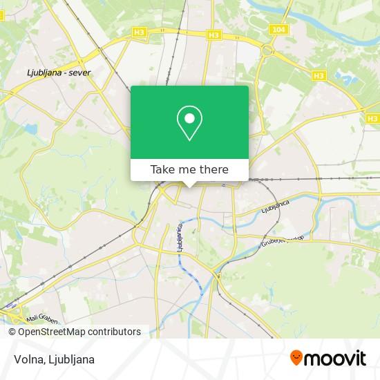 Volna map