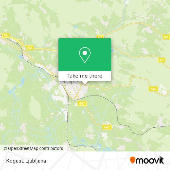Kogast map