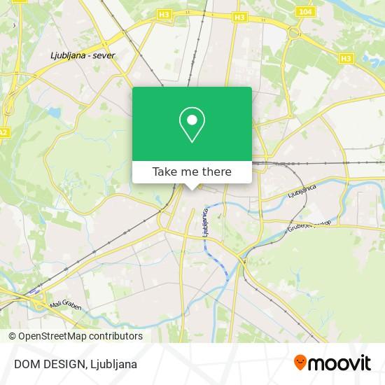 DOM DESIGN map