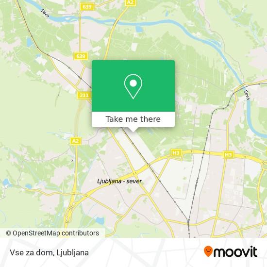 Vse za dom map