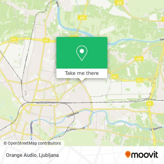 Orange Audio map