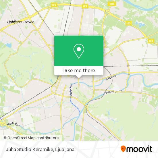 Juha Studio Keramike map