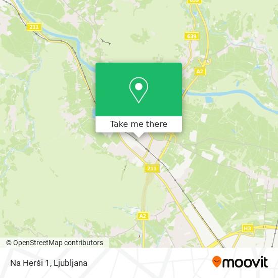 Na Herši 1 map