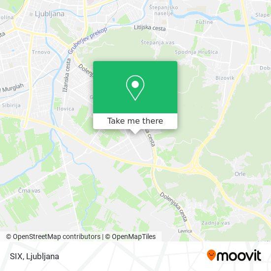 SIX map