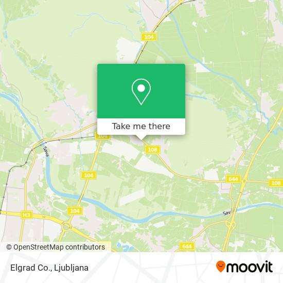 Elgrad Co. map