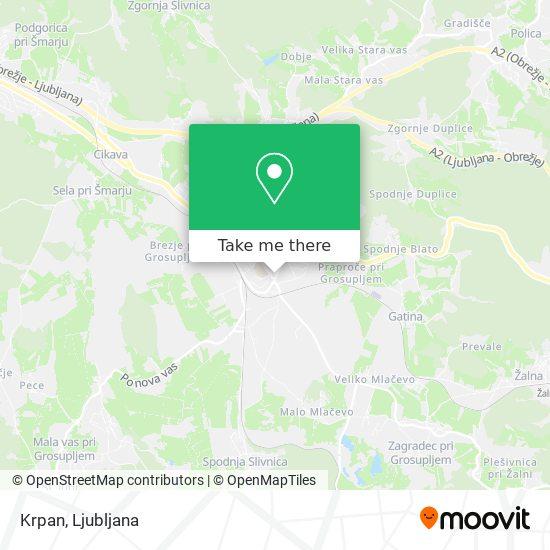 Krpan map