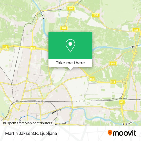 Martin Jakse S.P. map