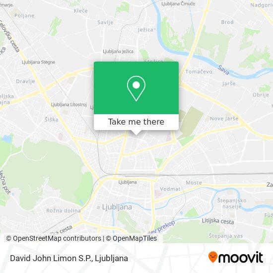 David John Limon S.P. map