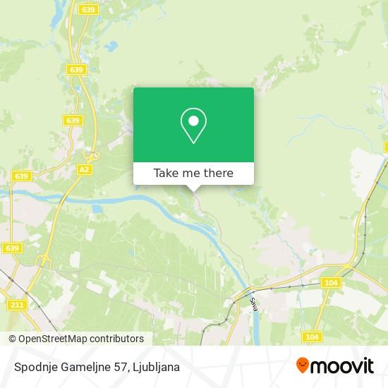 Spodnje Gameljne 57 map