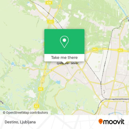 Destino map