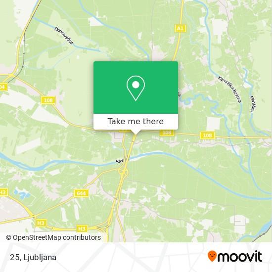 25 map