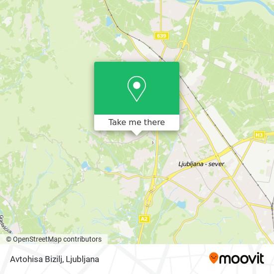 Avtohisa Bizilj map