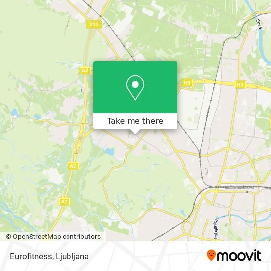 Eurofitness map