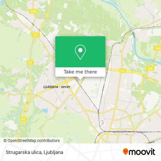 Strugarska ulica map