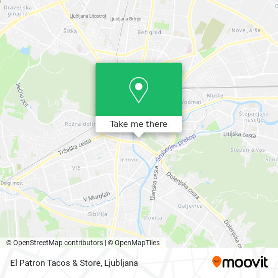 El Patron Tacos & Store map