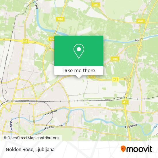 Golden Rose map